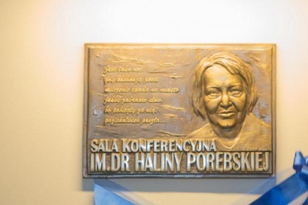 Halina Porębska patronką sali konferencyjnej OIL w Gdańsku