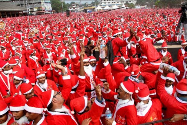 Cień rekordów Guinnessa kładzie się na Święta Bożego Narodzenia