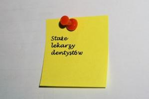 OIL Gdańsk: miejsc stażowych dla dentystów bardzo mało