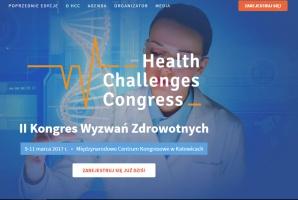 II Health Challenges Congress – rejestracja możliwa