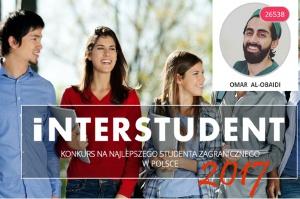 Student stomatologii liderem w konkursie Interstudent 2017