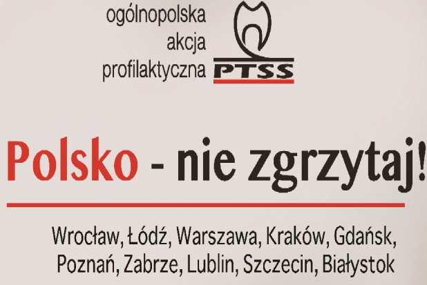 Zabrze: akcja PTSS - Polsko nie zgrzytaj