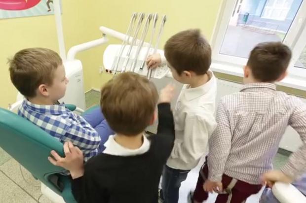 W Gronowie Górnym zafundowano gabinet szkolny