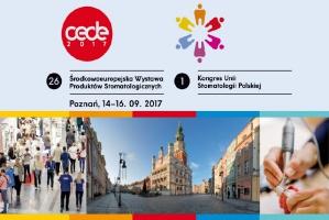 CEDE 2017: ruszyła rejestracja na Kongres Unii Stomatologii Polskiej
