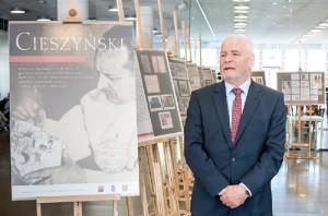 UM we Wrocławiu: wystawa upamiętniająca prof. Antoniego Cieszyńskiego