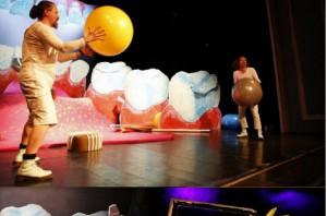 O zębach nawet w teatrze