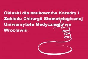 Chirurdzy stomatologiczni z UM we Wrocławiu z nagrodą