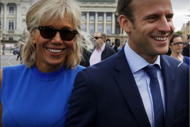 Zęby pierwszej damy Francji