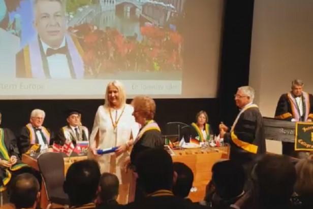 Prof. Marzena Dominiak przyjęta do grona The International College of Dentists