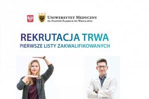 UM we Wrocławiu: I lista przyjętych na stomatologię