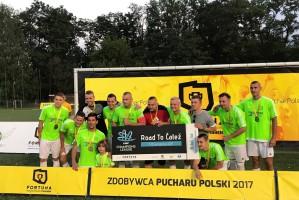 Dentim Clinic z piłkarskim Pucharem Polski