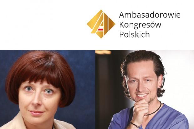 Prof. Ingrid Różyło-Kalinowska i dr Maciej Żarow Honorowymi Ambasadorami Kongresów Polskich