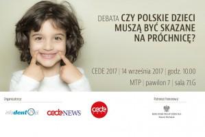 """Twój głos się liczy: zaproszenie na debatę """"Czy polskie dzieci muszą być skazane na próchnicę?"""""""