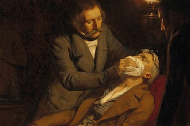Dentysta to zrobił: 171 lat od pierwszej narkozy