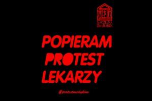 13 pażdziernika - Dzień Solidarności z Protestującymi Lekarzami