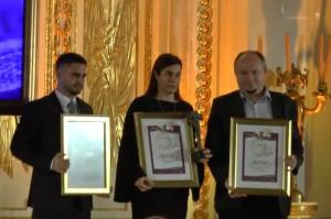 Fundacja Vivadental ze statuetką Lider Roku 2017 w Ochronie Zdrowia