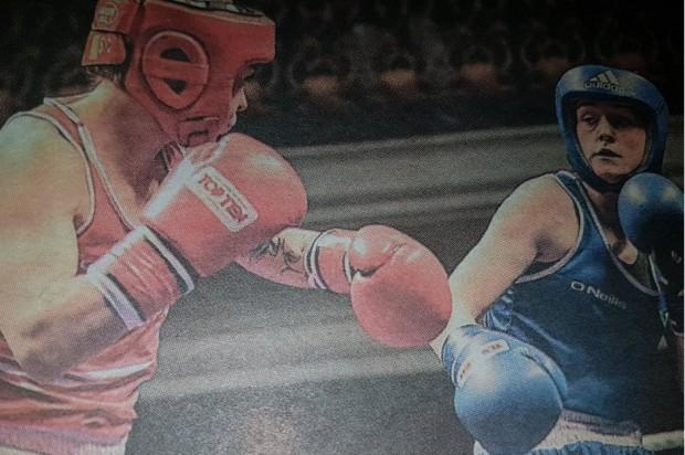 Jak dentystka bokserską karierę na szwank naraziła