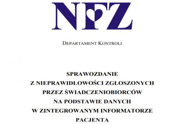 NFZ opublikował listę nieprawidłowości, prym wiedzie stomatologia
