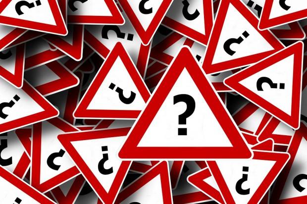 Znaki zakazu, ostrzegawcze i informacyjne dla lekarzy dentystów
