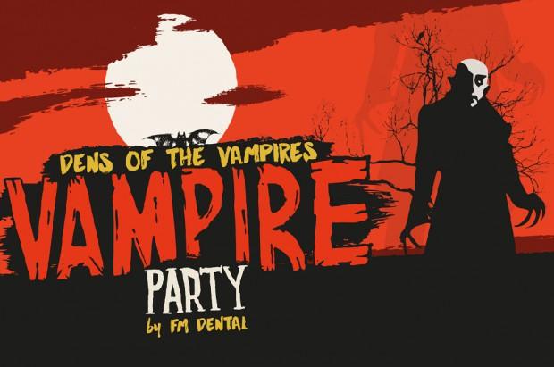 Vampire Party podczas Targów Krakdent
