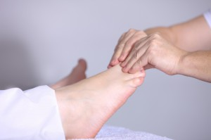 Po masażu stóp u dentysty...powikłania