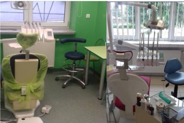 Gabinety stomatologiczne w szkołach na sprzedaż