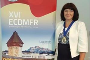 Prof. Ingrid Różyło-Kalinowska na czele European Academy of Dentomaxillofacial Radiology