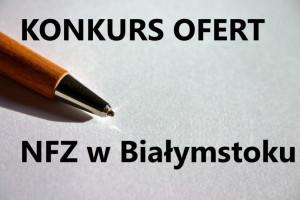 Podlaski OW NFZ: ogłasza konkurs na  leczenie stomatologiczne