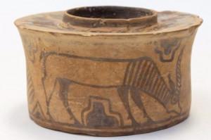 Kubeczek na szczotkę do zębów sprzed 4 tys. lat
