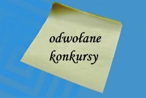 Stomatologia: OW NFZ w Poznaniu unieważnia dwa konkursy