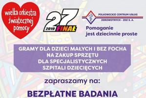 W Polkowicach dentyści z PCUZ grają w WOŚP