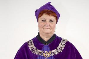 Prof. Halina Grajeta p.o. rektora UM we Wrocławiu