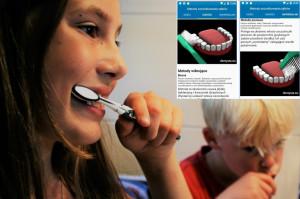 Dentysta stworzył aplikację uczącą prawidłowo szczotkować zęby