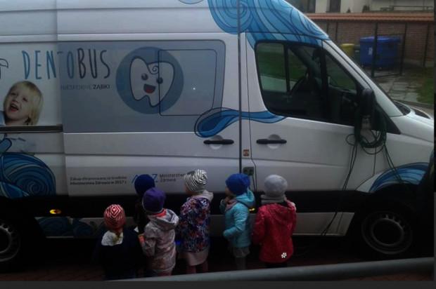 Małopolska: dentobus pracuje wytrwale