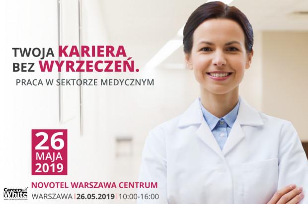 Medyczne Targi Pracy 26 maja w Warszawie po raz pierwszy