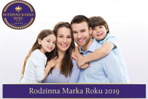 """Enel–Med stomatologia """"Rodzinną Marką Roku – Jakość i Zaufanie 2019"""""""
