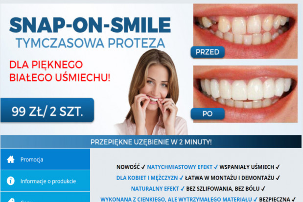 Larum grają! Snap on smile atakuje
