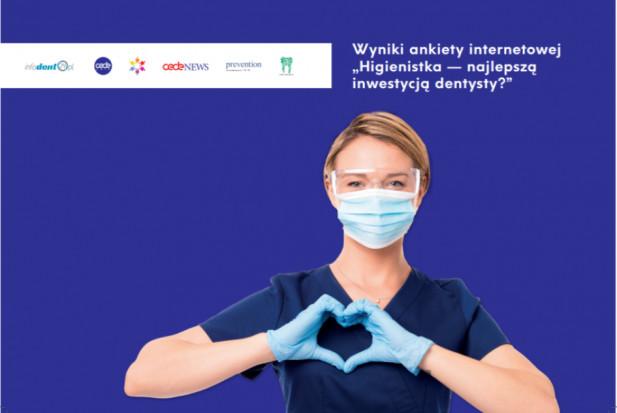 """Wyniki ankiety internetowej """"Higienistka — najlepszą inwestycją dentysty?"""""""