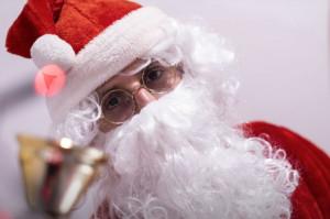 Dentysta w roli świętego Mikołaja