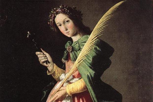 Św. Apolonia - patronka stomatologów