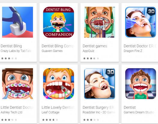 Każdy chciałby zostać dentystą...