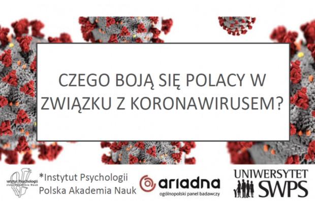 Czego Polacy boją się w obliczu koronawirusa