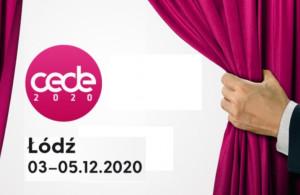CEDE 2020: we wrześniu w internecie, w grudniu – w Łodzi na żywo