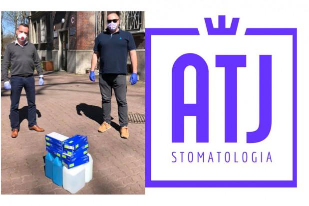 Koronawirus: Poradnik - Stomatologia ATJ dzieli się z potrzebującymi