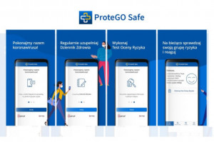 Koronawirus: GIS  promuje aplikację ProteGO Safe