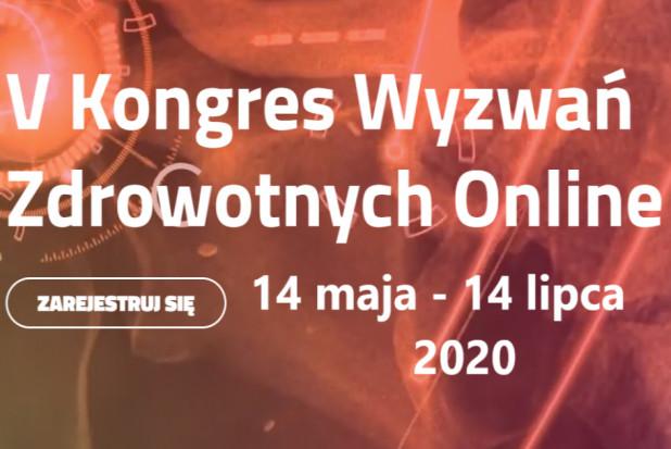 V Kongres Wyzwań Zdrowotnych tylko on-line