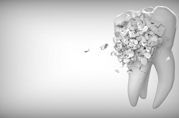 Bakterie próchnicowe szukają bezpiecznego schronienia, zanim zaczną niszczyć zęby