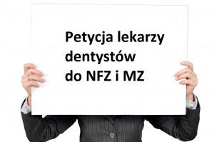 Grono sygnatariuszy petycji w sprawie realizowania kontraktów stomatologicznych z NFZ powiększa się