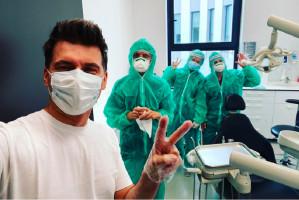 Koronawirus: Tomasz Kammel o modzie wśród dentystów