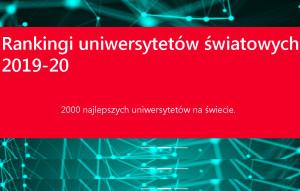 Z polskich uczelni medycznych WUM najwyżej w rankingu CWUR